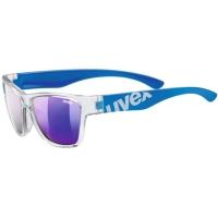 Uvex Sportstyle 508 Okulary przeciwsłoneczne dla dzieci clear blue mirror blue