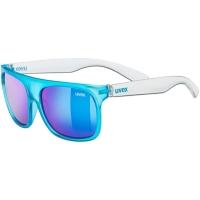 Uvex Sportstyle 511 Okulary przeciwsłoneczne dla dzieci blue clear mirror blue