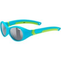 Uvex Sportstyle 510 Okulary przeciwsłoneczne dla dzieci blue green mat smoke