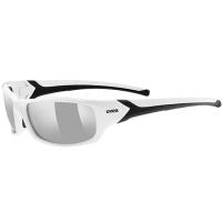 Uvex Sportstyle 211 Okulary sportowe white black litemirror silver