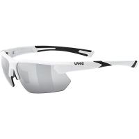 Uvex Sportstyle 221 Okulary sportowe white litemirror silver