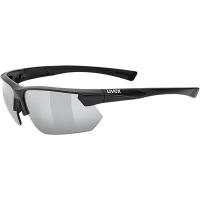 Uvex Sportstyle 221 Okulary sportowe black mat litemirror silver