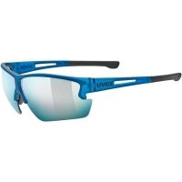 Uvex Sportstyle 812 Okulary sportowe blue mat mirror blue