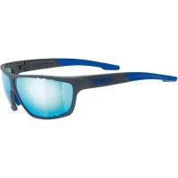 Uvex Sportstyle 706 Okulary sportowe blue mat mirror blue