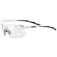 Uvex Sportstyle 802 V Okulary sportowe white smoke