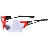 Uvex Sportstyle 803 Race VM Okulary sportowe black red mat litemirror blue