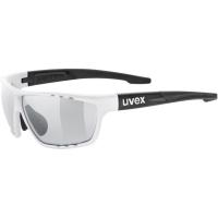 Uvex Sportstyle 706 V Okulary sportowe white mat black variomatic smoke