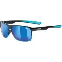 Uvex LGL 33 Pola Okulary przeciwsłoneczne black blue polavision mirror blue