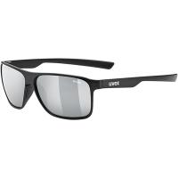 Uvex LGL 33 Pola Okulary przeciwsłoneczne black mat polavision mirror silver