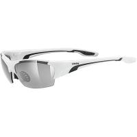 Uvex Blaze III Okulary sportowe z wymiennymi szkłami white black