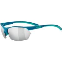 Uvex Sportstyle 114 Okulary sportowe z wymiennymi szkłami green turquoise mat