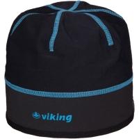 Viking Cross Country Palmer Czapka z membraną czarno niebieska