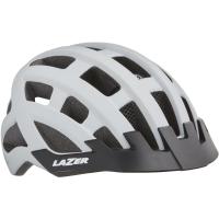 Lazer Comp DLX Kask rowerowy uniwersalny mat white 2019