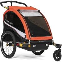 Burley Cub X Przyczepka rowerowa dla dziecka dwuosobowa