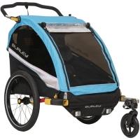 Burley D'Lite X Przyczepka rowerowa dla dziecka dwuosobowa