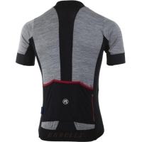 Rogelli Roccia Koszulka rowerowa z krótkim rękawem szaro czarno czerwona 2019