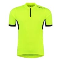 Rogelli Perugia 2.0 Koszulka rowerowa z krótkim rękawem żółta 2019