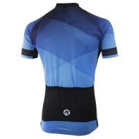 Rogelli Ispirato 2.0 Koszulka rowerowa niebiesko czarna