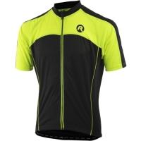 Rogelli Mantua 3.0 Koszulka rowerowa z krótkim rękawem szaro czarno żółta 2019