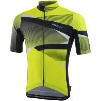 Rogelli Arte Koszulka rowerowa z krótkim rękawem żółto czarna 2019