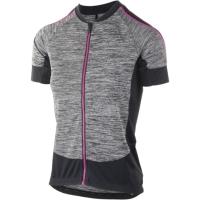 Rogelli Carlyn 3.0 Koszulka rowerowa z krótkim rękawem damska szaro różowa 2019