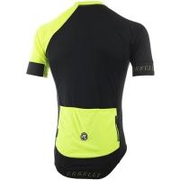 Rogelli Contento Koszulka rowerowa z krótkim rękawem czarno żółta