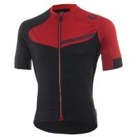 Rogelli Contento Koszulka rowerowa z krótkim rękawem czarno czerwona