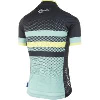 Rogelli DOT Koszulka rowerowa z krótkim rękawem damska zielono czarna 2019
