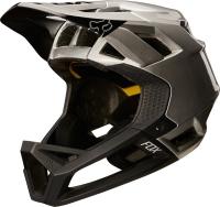 Fox Proframe Moth Kask rowerowy DH Full Face Black/Silver