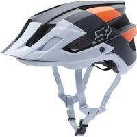 Fox Flux Crankworx LE Kask rowerowy MTB Black/White/Orange