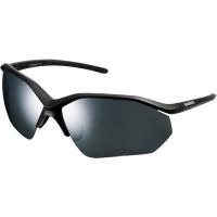Shimano CE EQNX3 Okulary rowerowe mat black smoke silver