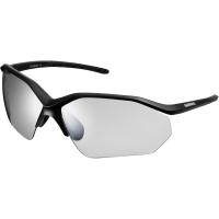 Shimano CE EQNX3 Okulary rowerowe mat black photochromic dark gray