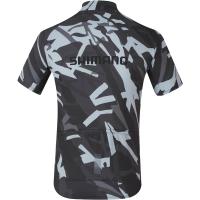 Shimano Team Jersey Koszulka z krótkim rękawem gray