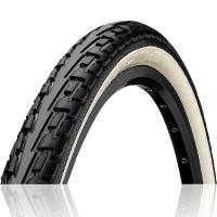 Continental Ride Tour??????? 27 x 1 1/4 ExtraPuncture Belt Opona rowerowa drutowa czarno biała Reflex