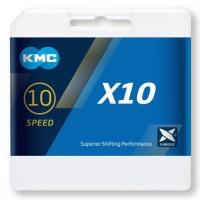 KMC X10.93 Łańcuch 10 rzędowy 114 ogniw oem + spinka