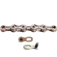 KMC X9L Łańcuch 9 rzędowy 116 ogniw + spinka srebrny
