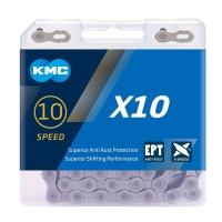 KMC X10 EPT Łańcuch 10 rzędowy 114 ogniw + spinka