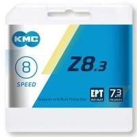 KMC Z8 EPT Łańcuch 8 rzędowy 114 ogniw + spinka srebrny