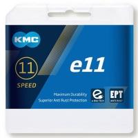 KMC E11 EPT e-Bike Łańcuch 11 rzędowy 122 ogniw + spinka