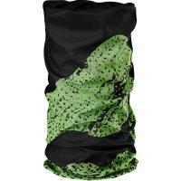 Merida HT-MD011 Komin uniwersalny z coolmaxem czarno zielony