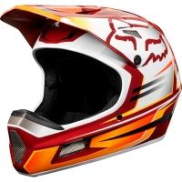 Fox Rampage Comp Reno Kask rowerowy MTB Full Face Cardinal