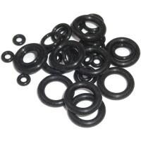 Sram Pro Bleed Syringe Kit Zestaw O-ringów czarne