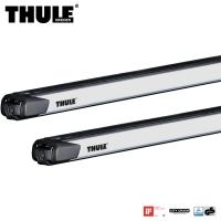 Thule SlideBar Evo Belki bazowe bagażnika dachowego srebrne