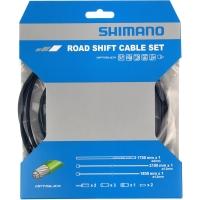 Shimano SIS-SP41 Zestaw linek i pancerzy przerzutki szosa Optislik czarny