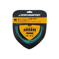 Jagwire Pro Shift Zestaw linek i pancerzy przerzutki MTB Szosa Shimano Sram błekitny