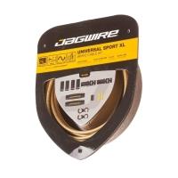 Jagwire Universal Sport XL Zestaw linek i pancerzy hamulców szosa złoty