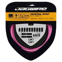 Jagwire Universal Sport Zestaw linek i pancerzy przerzutki MTB / Szosa różowy