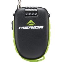 Merida LC-MD028 Zapięcie rowerowe szyfrowe linka czarne 1200 X 1,6 mm