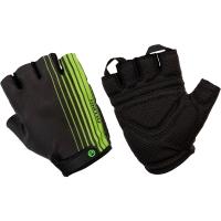 Accent Line Rękawiczki rowerowe czerno zielone
