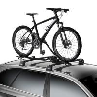 Thule ProRide 598 Zestaw bagażników uchwytów rowerowych na dach za ramę srebrny